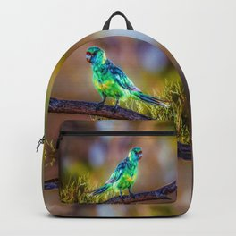 Mallee Ringneck Parrot Backpack