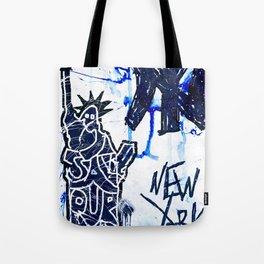 NY x NY Tote Bag