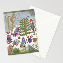 A Very Foxy Christmas Stationery Cards