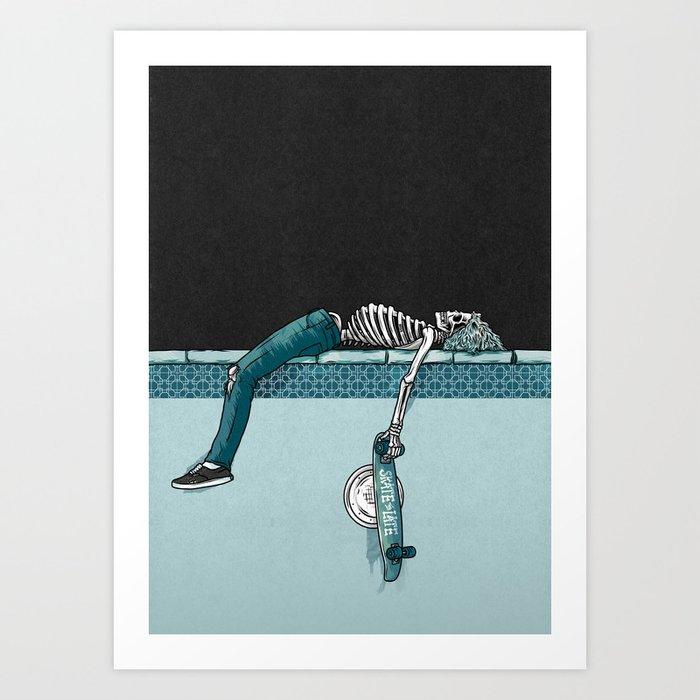 Skate 'til Late Kunstdrucke