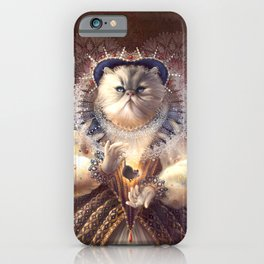 Cat Queen iPhone Case