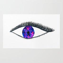 Galaxy Eye Mascara Rug