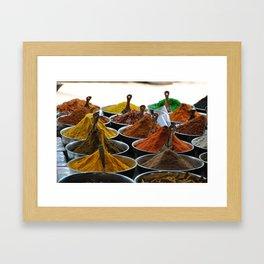Spice it up! Framed Art Print