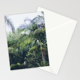 Palm Trees in a Tropical Garden Stationery Cards