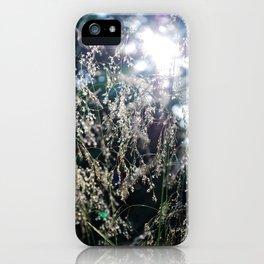 Grass Light iPhone Case