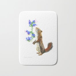 Take Time To Smell The Flowers by Teresa Thompson Bath Mat