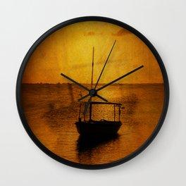 Dream Boat Wall Clock