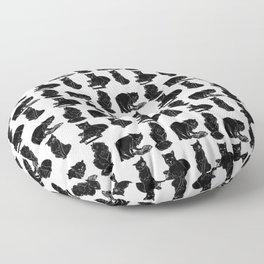 Сlever cats Floor Pillow