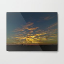 Wide Open Skies Metal Print