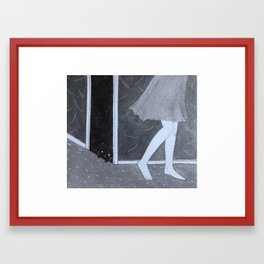 hidden Framed Art Print