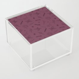 Herbs and Berries Acrylic Box