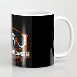 R&J Logo Black Coffee Mug