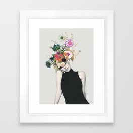 Floral beauty Framed Art Print