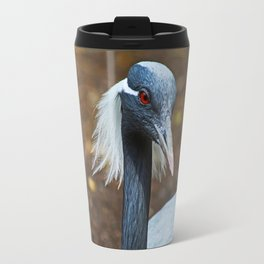 Demoiselle Crane I Travel Mug