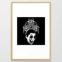 kim kardashian Framed Art Print