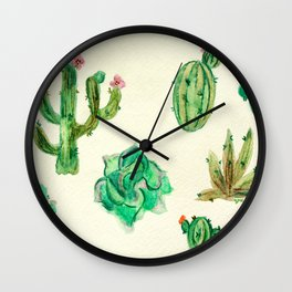 Desert Life Wall Clock