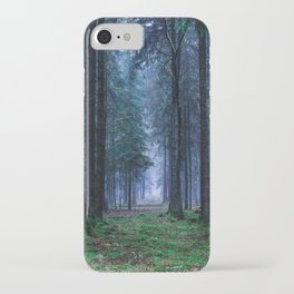 Green Magic Forest - Landscape Nature Photography iPhone Case
