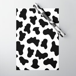 Moo Cow Print Wrapping Paper