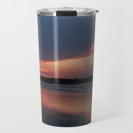 Sunset on the waterway Travel Mug