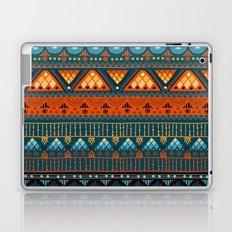 Orange & Blue Boho Pattern Laptop & iPad Skin