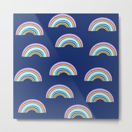 Rainbow - multicolor Metal Print