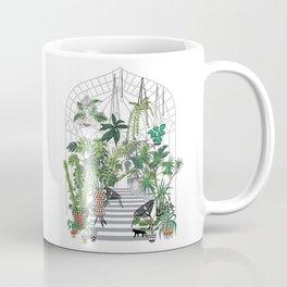 greenhouse illustration Coffee Mug