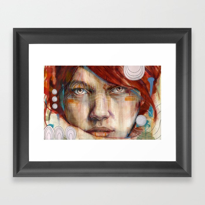 Auburn Framed Art Print