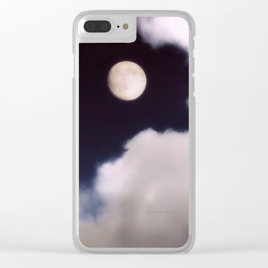 Wish upon a Moon Clear iPhone Case