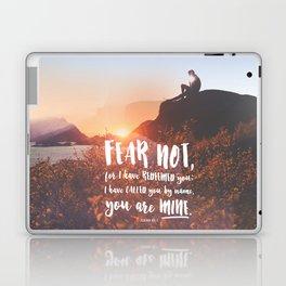 Isaiah 43:1 Laptop & iPad Skin