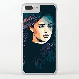 Hannah Clear iPhone Case