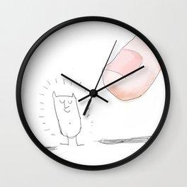 finger Wall Clock
