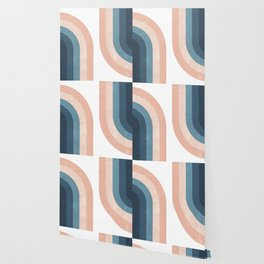 70s Rainbow Wallpaper