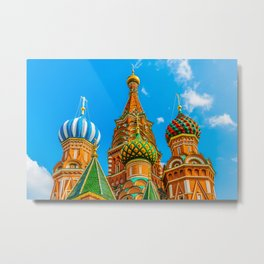 St. Basil's cathedral Metal Print
