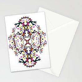nostalgic pattern Stationery Cards