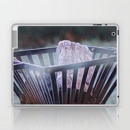 Frosty Fire Pit Laptop & iPad Skin