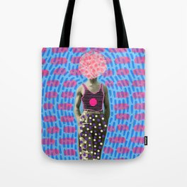 Walking Dot Tote Bag