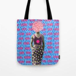 Walking Dot Tote Bag