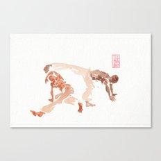 Capoeira 289 Canvas Print
