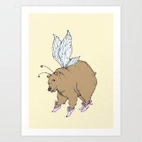 Beary  Art Print
