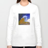 fear and loathing Long Sleeve T-shirts featuring Fear and Loathing by Tonya Doughty