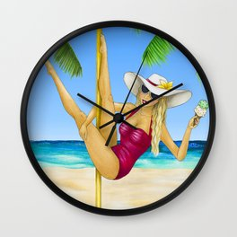August 2017 Wall Clock
