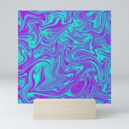 liquid hippie Mini Art Print