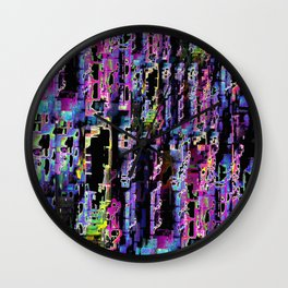 A Question of Perception Wall Clock