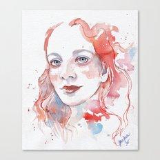 Selfportrait 2015 Canvas Print