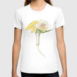 Art Nouveau Poppy Duet by Seasons K Designs T-shirt