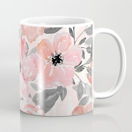 Elegant simple watercolor floral Coffee Mug