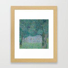 Farmhouse in Buchberg Framed Art Print