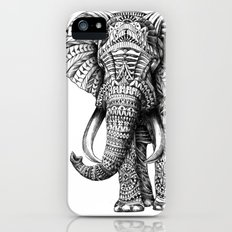 Ornate Elephant iPhone (5, 5s) Slim Case