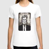 david lynch T-shirts featuring David Lynch by Emma Ridgway