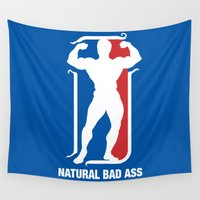 nba Wall Tapestries featuring NBA by Free Specie